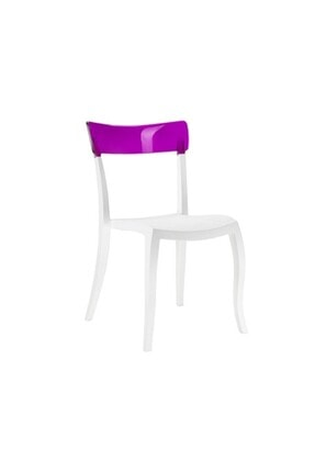 Papatya Hera-s Plastik Sandalye Polikarbonat Sırt Gaz Enjeksiyonlu Cam Elyaflı Pp Gövde