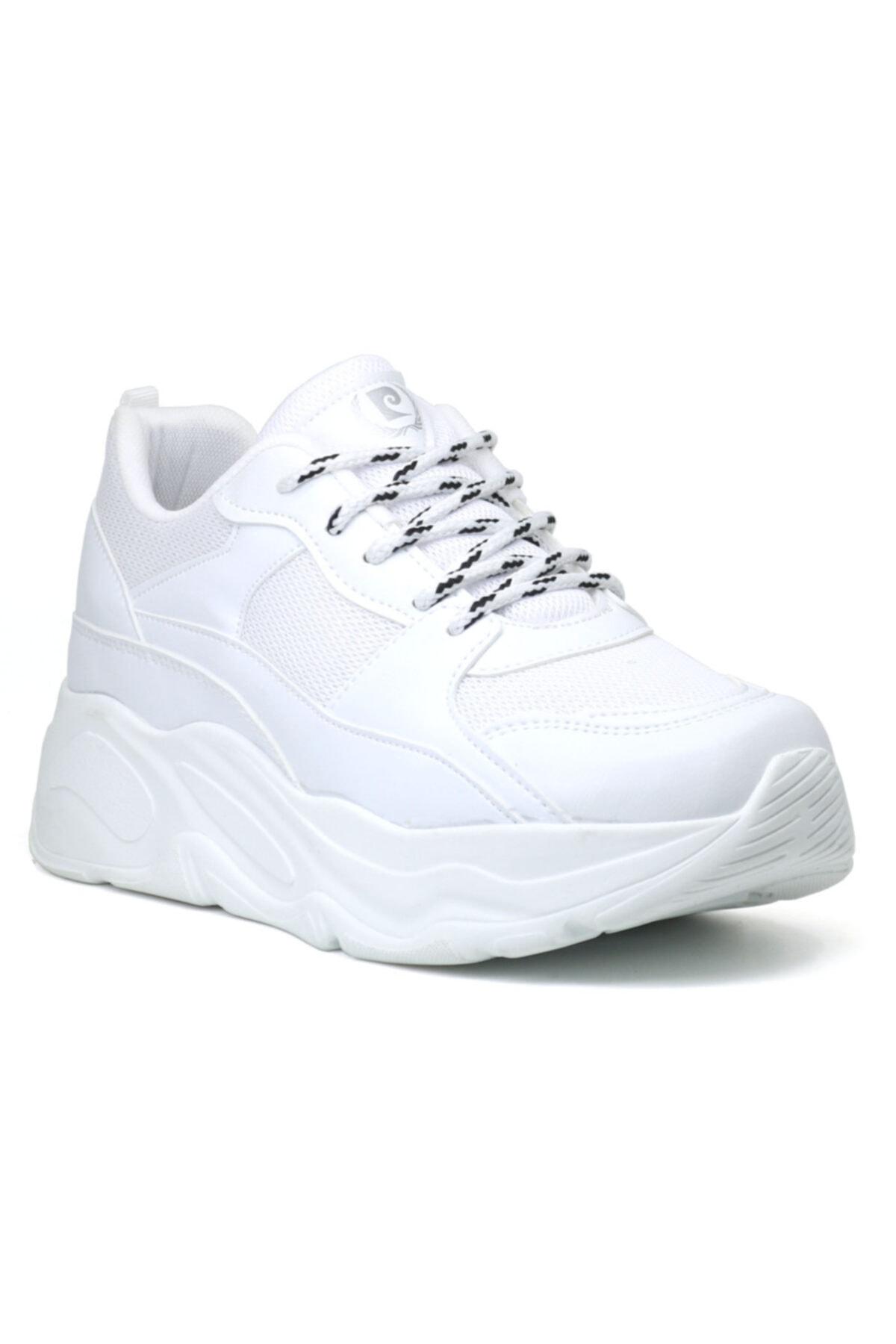 Pierre Cardin 30061 Yüksek Taban Kadın Spor Ayakkabı 1