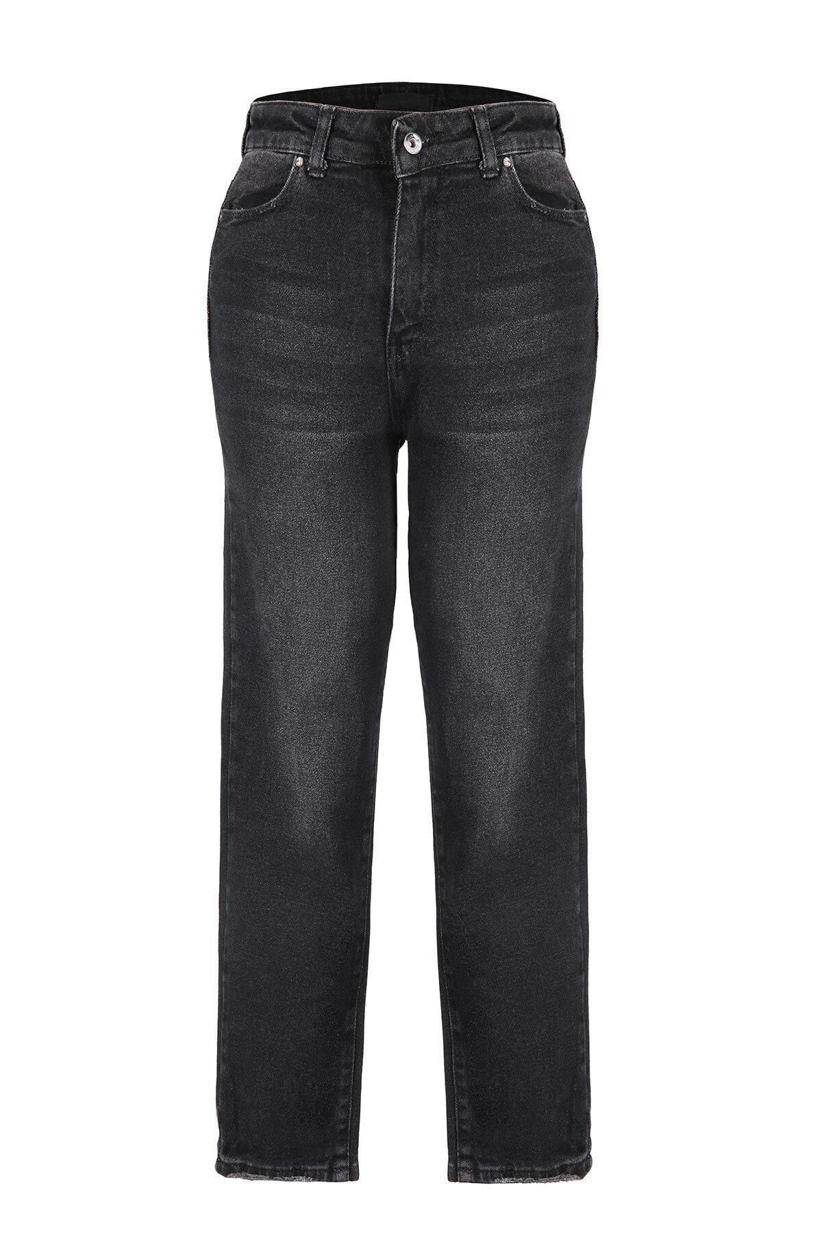 Oblavion Kadın Siyah Mom Jeans 1