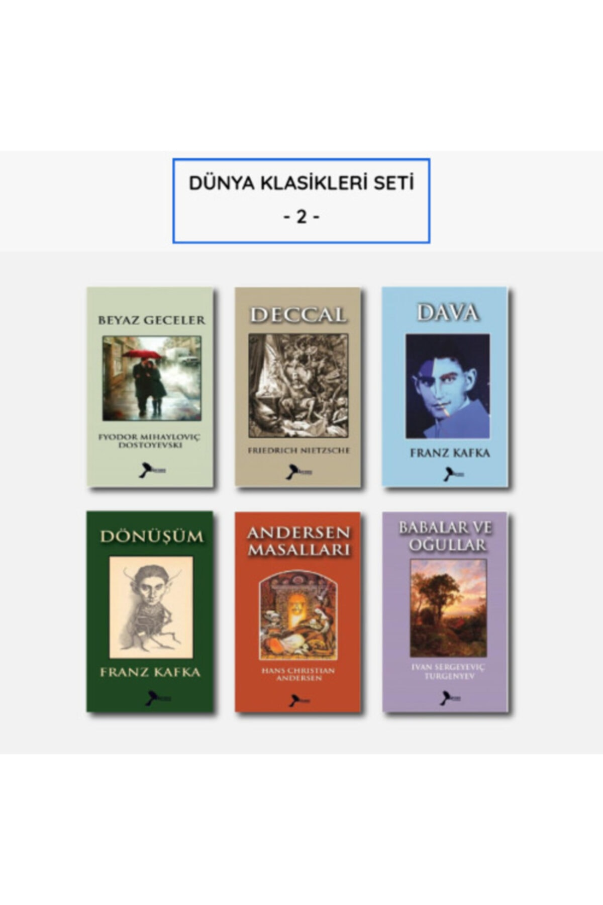 Karmen Yayınları Dünya Klasikleri Seti - 2 - 1