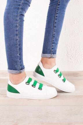 Zafoni Kadın Yeşil Günlük Spor Ayakkabı