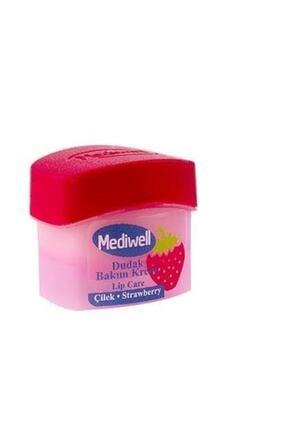 Mediwell Dudak Bakım Kremi - Çilek Aromalı