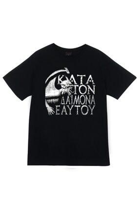 fame-stoned Rotting Christ Baskılı T-shirt
