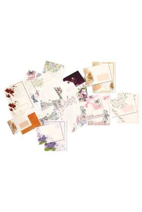 Keskin Mektupluk Kağıt 10 Lu Ivory Set 160460-99