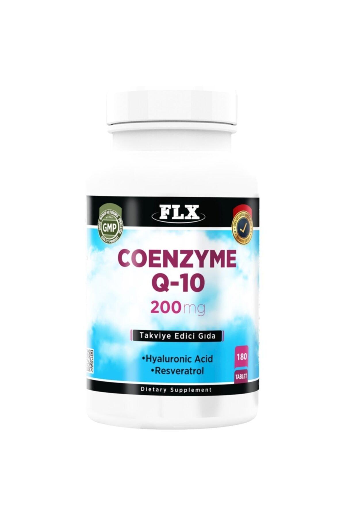 FLX Coenzyme Q-10 200 Mg Hyaluronik Asit 180 Tablet X 3 Kutu 2
