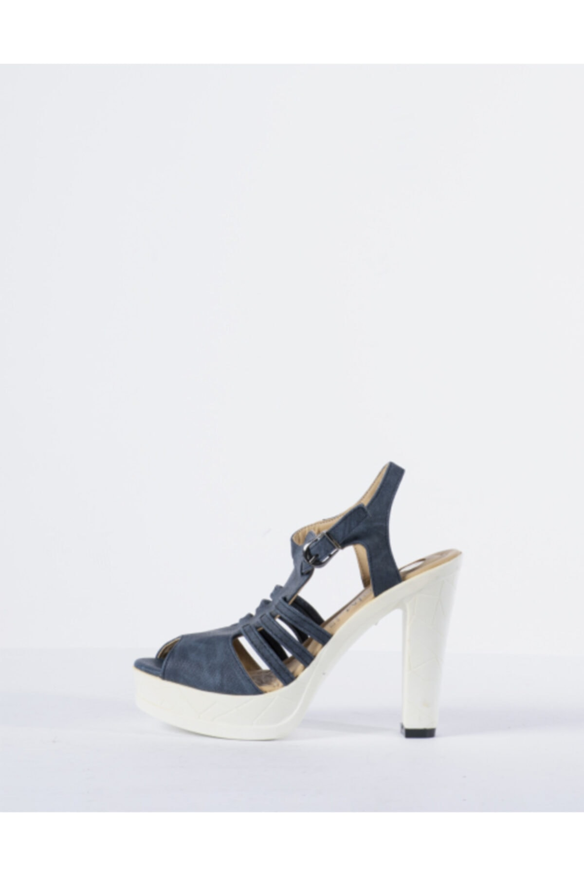 Vision Kadın Mavi Topuklu Ayakkabı 1