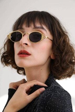Bilge Karga Charlotte Gold Tasarım Güneş Gözlüğü
