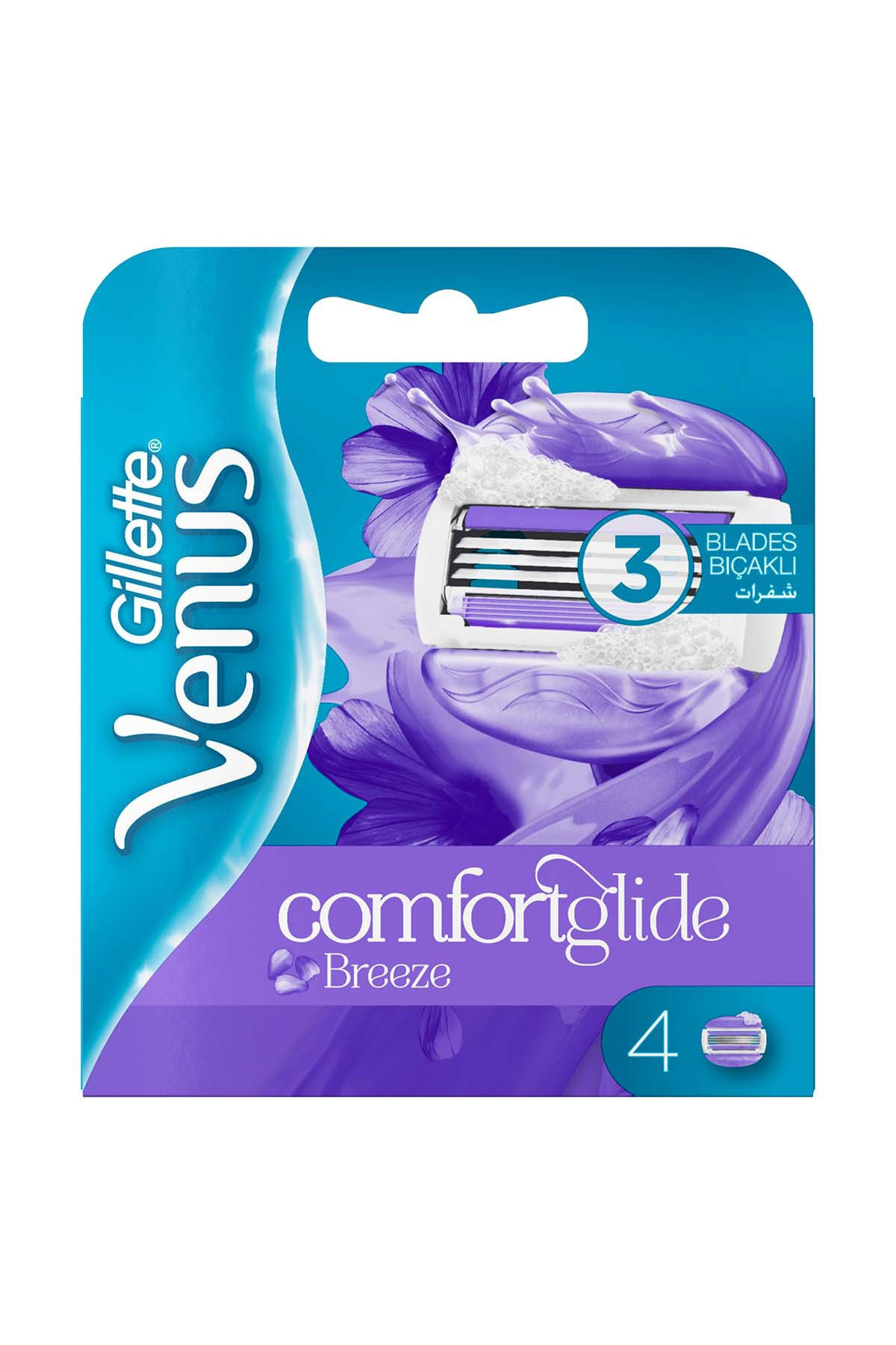 Gillette Venus Breeze Yedek Kadın Tıraş Bıçağı 4'lü 2