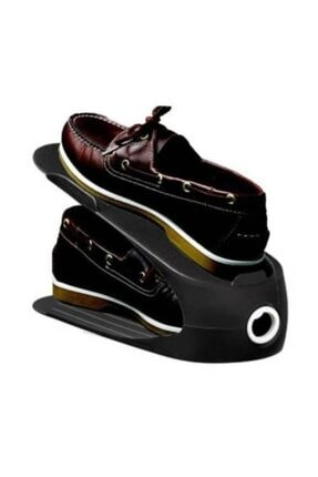 Gondol Ayakkabı Rampası (siyah) 10 Lu