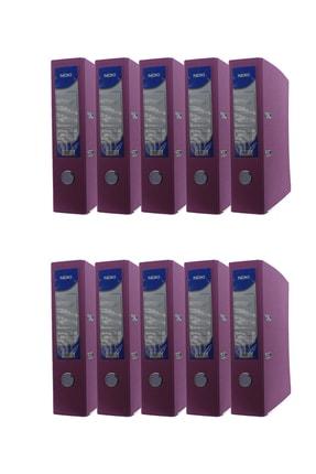 Noki Geniş Plastik Klasör (56411-070) Pembe 10 Lu Paket