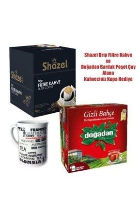 Shazel Drip Filtre Kahve & Doğadan Gizli Bahçe Çay Seti