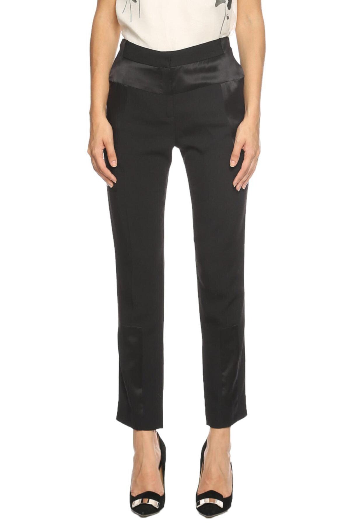 Prabal Gurung Kadın Siyah Klasik Pantolon 1