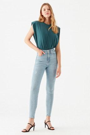 Mavi Serenay Gold Shape Jean Pantolon