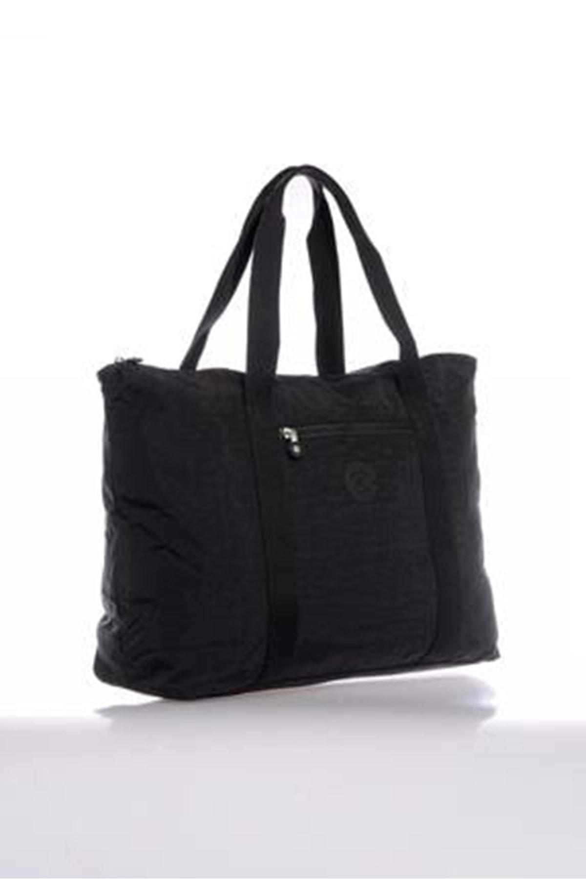 SMART BAGS Kadın Siyah Büyük Boy Çanta 3041 2