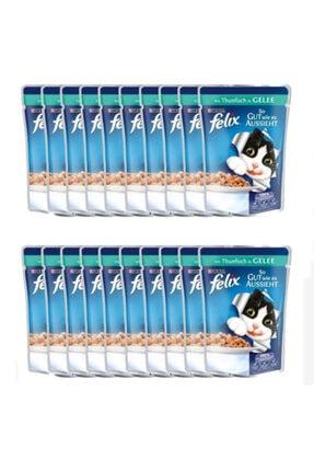 Purina Felix Felix Ton Balıklı Kedi Yaş Maması 100 Gr 20'li Paket