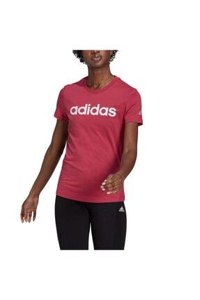 adidas W LIN T Neon Pembe Kadın T-Shirt 101085788