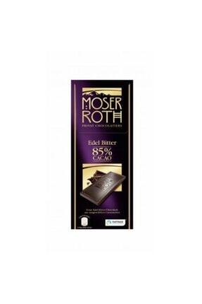 moser roth Edel Bitter %85 Cacao 100g Orijinal Alman Çikolatası