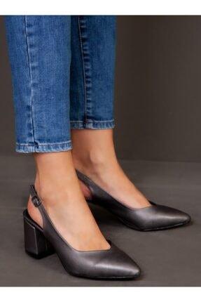 ayakkabıhavuzu Kadın Gri Topuklu Ayakkabı