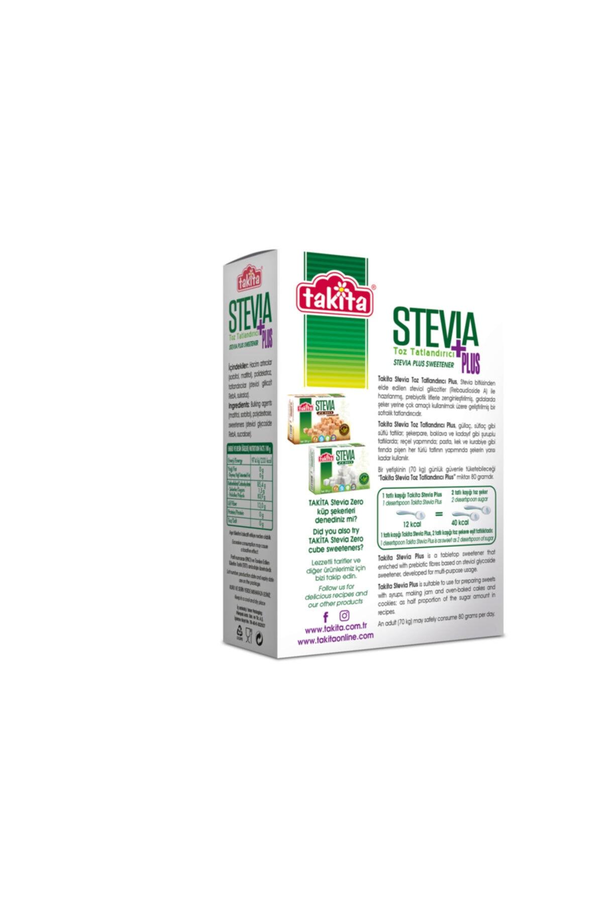 Takita Stevia Plus Toz Tatlandırıcı 250 Gr 2