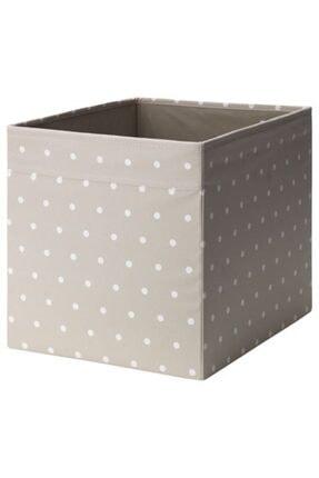 IKEA Kare Kutu Bej Renk Düzenleyici Kutu Meridyendukkan Ev Düzeni Düzenleme Saklama 33x38x33 Cm