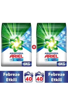 Ariel Febreze Etkili 12 kg Aqua Pudra Toz Çamaşır Deterjanı ( 6 kg X 2 )