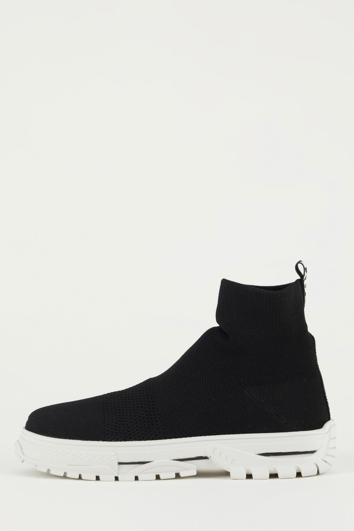 DeFacto Kadın Çorap Tipi Yüksek Bilekli Spor Ayakkabı U2144AZ21SMBK23