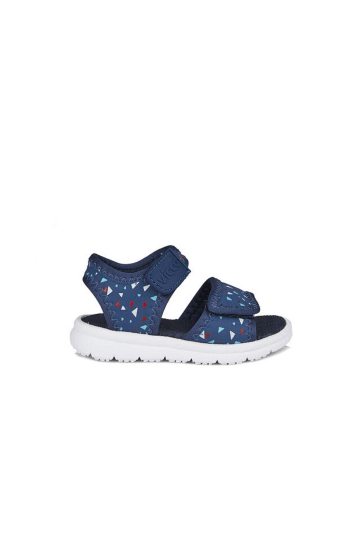 Vicco Limbo Ilk Adım Erkek Bebe Lacivert Sandalet 2