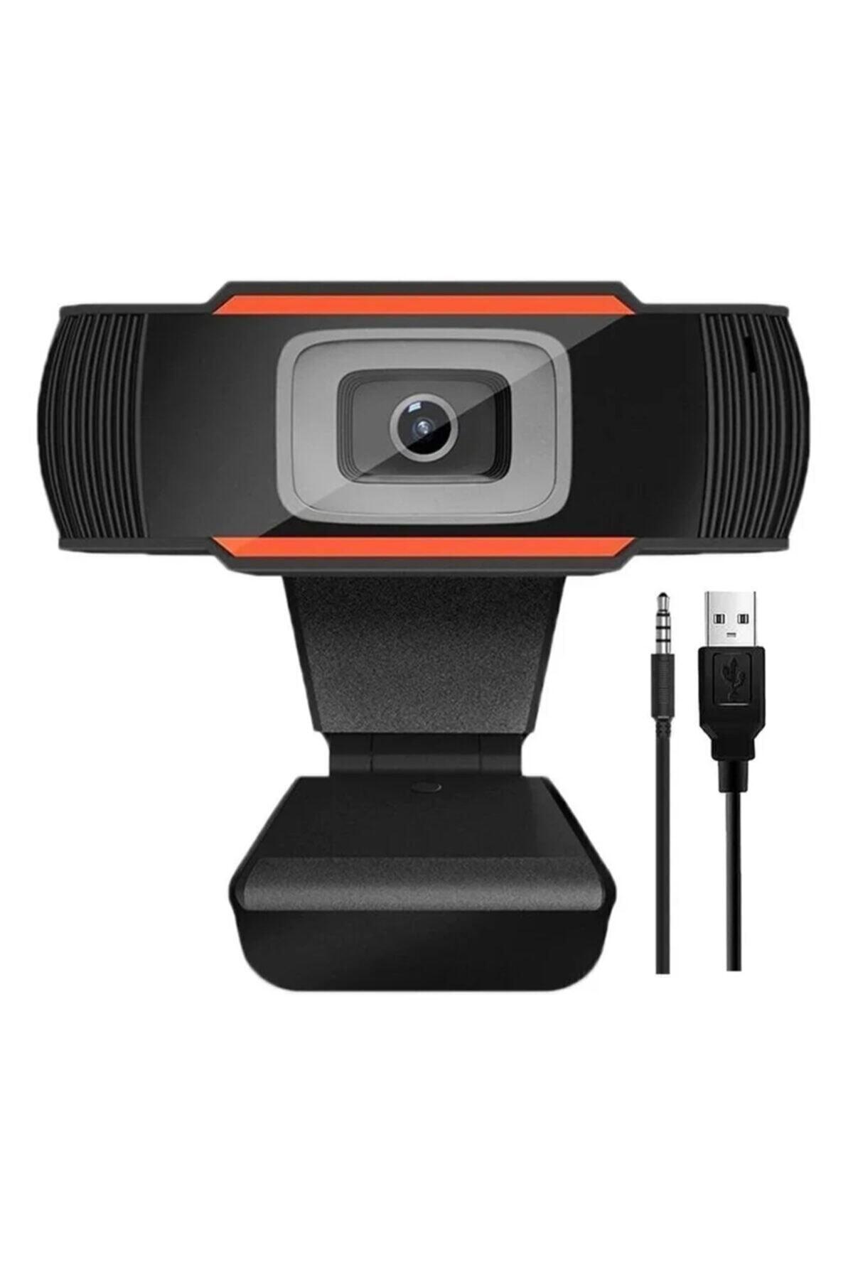 RUKUSHE Mikrofonlu Webcam Kamera Hd Kalite 720p Eba Zoom Destekli Tüm Windows Sürümleri Ile Uyumlu 1
