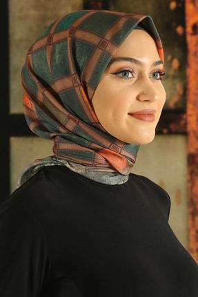 Moda Ebrar Kadın Desenli Pamuk Eşarp - Tmede-073