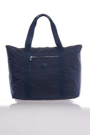 SMART BAGS Kadın Lacivert Büyük Boy Çanta 3041