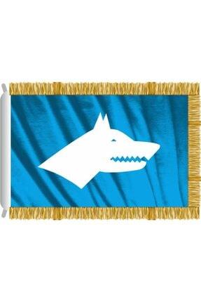 Rekbay Göktürk Bayrağı Saçaklı 50x75cm
