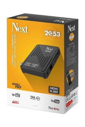 Next 2053 Çanaklı - Çanaksız (IPTV Hevc H.265) Full HD Uydu Alıcı