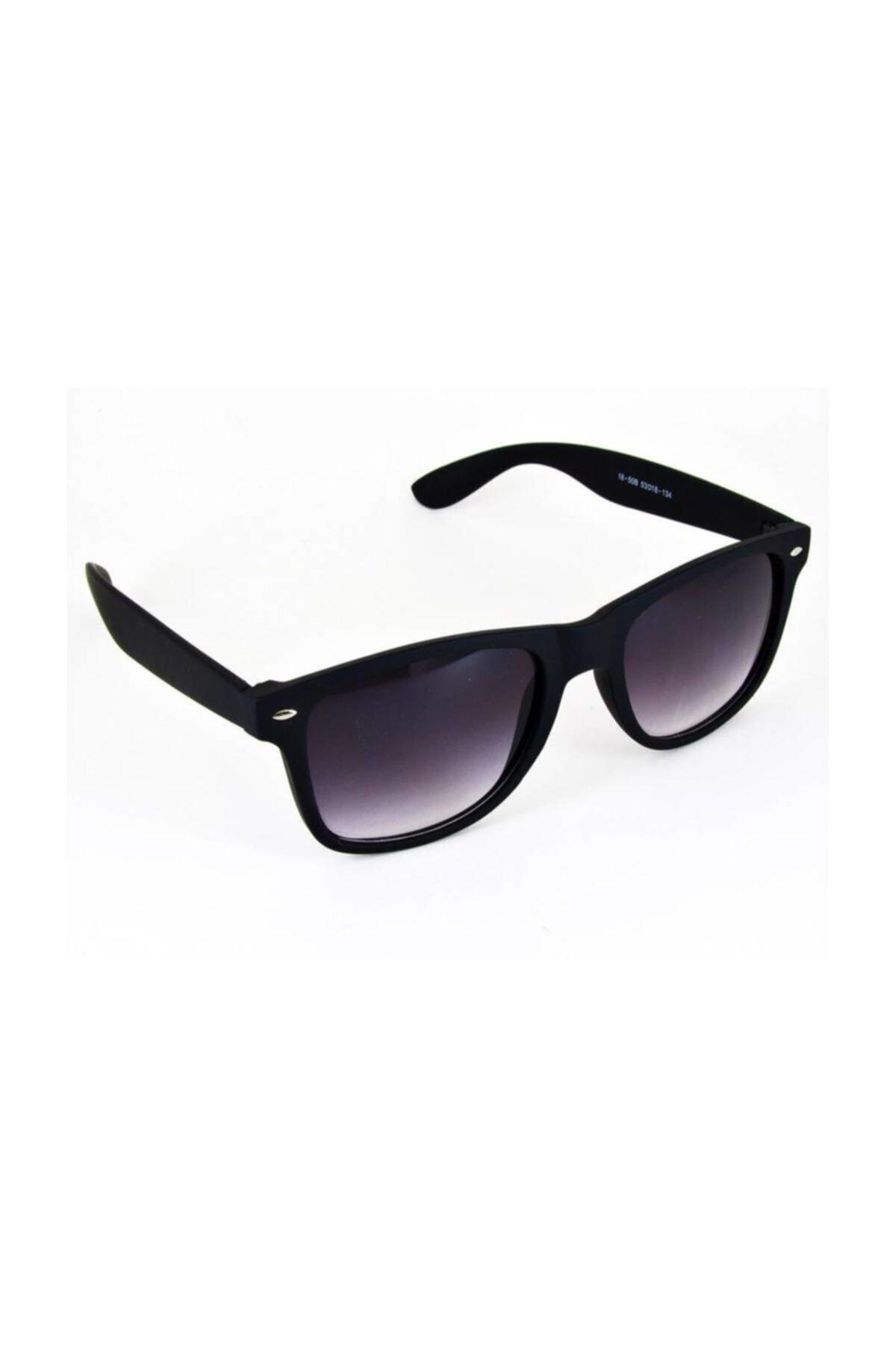 Takı Dükkanı Unisex Siyah  Güneş Gözlüğü Mat Çerçeveli Gözlük bl1850u 1