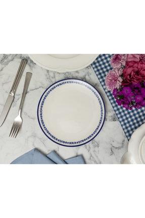 Madame Coco Rêve Bleu Joie Pasta Tabağı - Mavi
