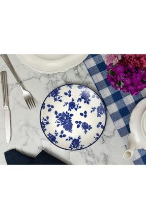 Madame Coco Rêve Bleu Nature Pasta Tabağı - Mavi