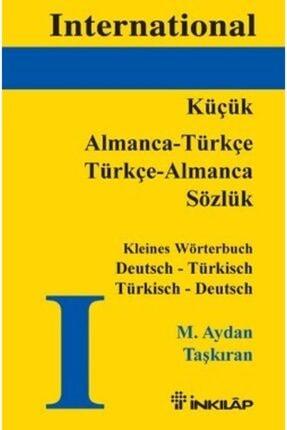 İnkılap Kitabevi Almanca - Türkçe Türkçe Almanca (küçük)