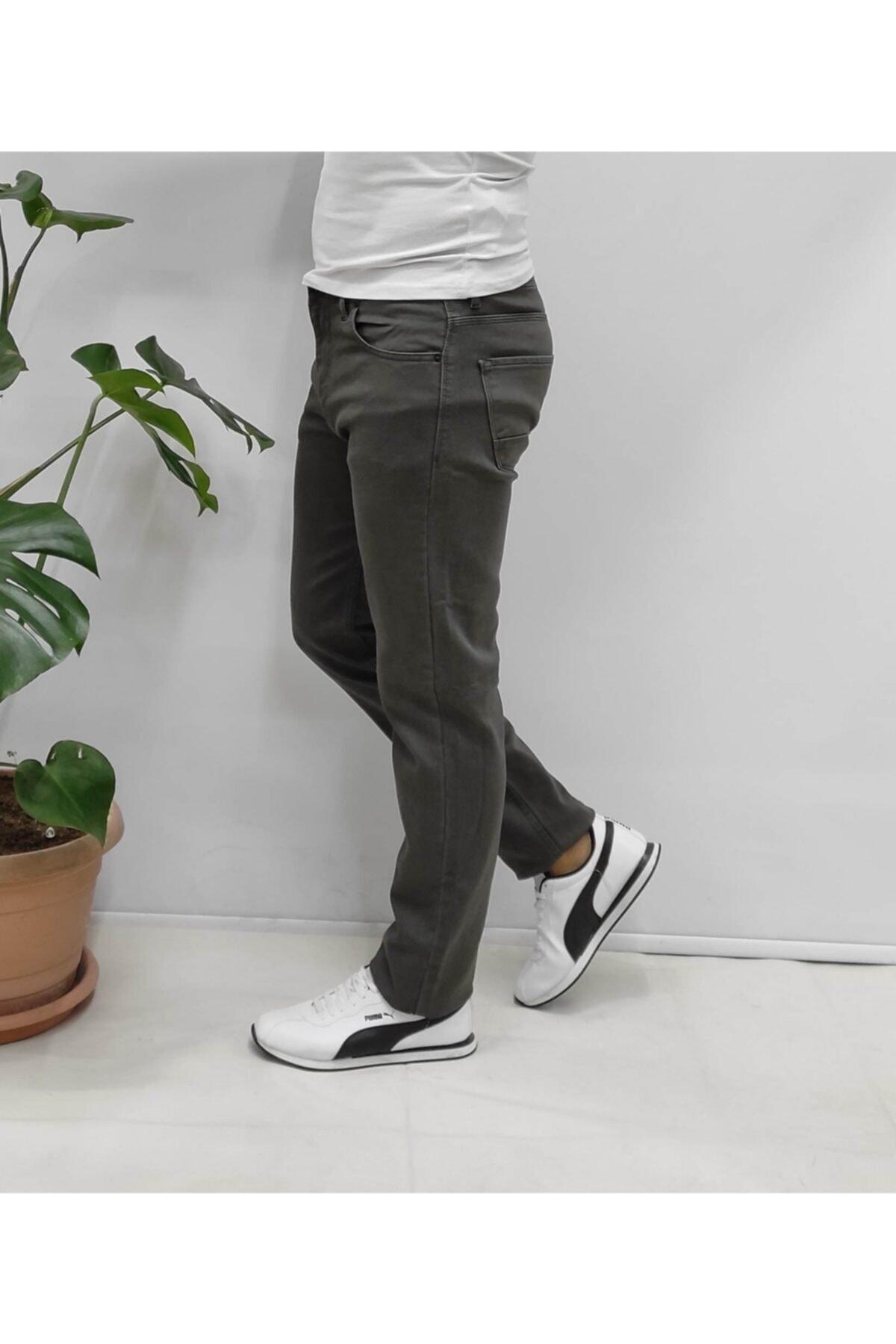 YNGMENCLASS Likralı Büyük Beden Battal Jeans Kot 2