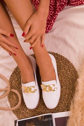 SOHO Beyaz  Kadın Casual Ayakkabı 16033