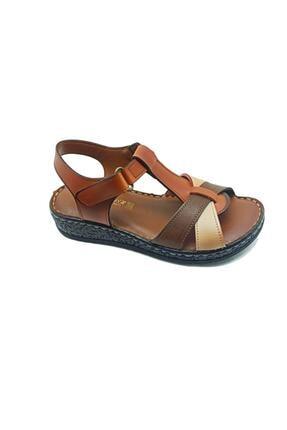 Muya Kadın Kahverengi Sandalet
