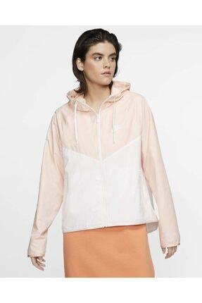 Nike Kadın Beyaz Sportswear Windrunner Jacket