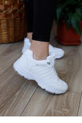 MP Unısex Beyaz Yüksek Taban Spor Ayakkabı