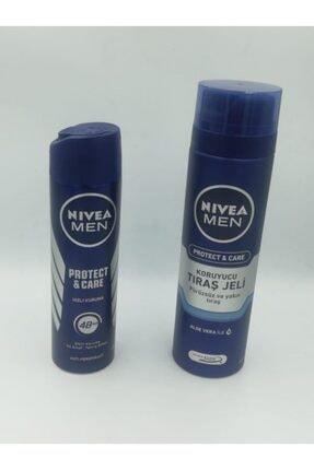 Nivea Men Protect&care Deodorant / Tıraş Jeli