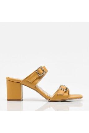 Hotiç Hardal Yaya Kadın Sandalet & Terlik