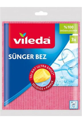 Vileda Sünger Bez 2 + 1 (2 Paket)