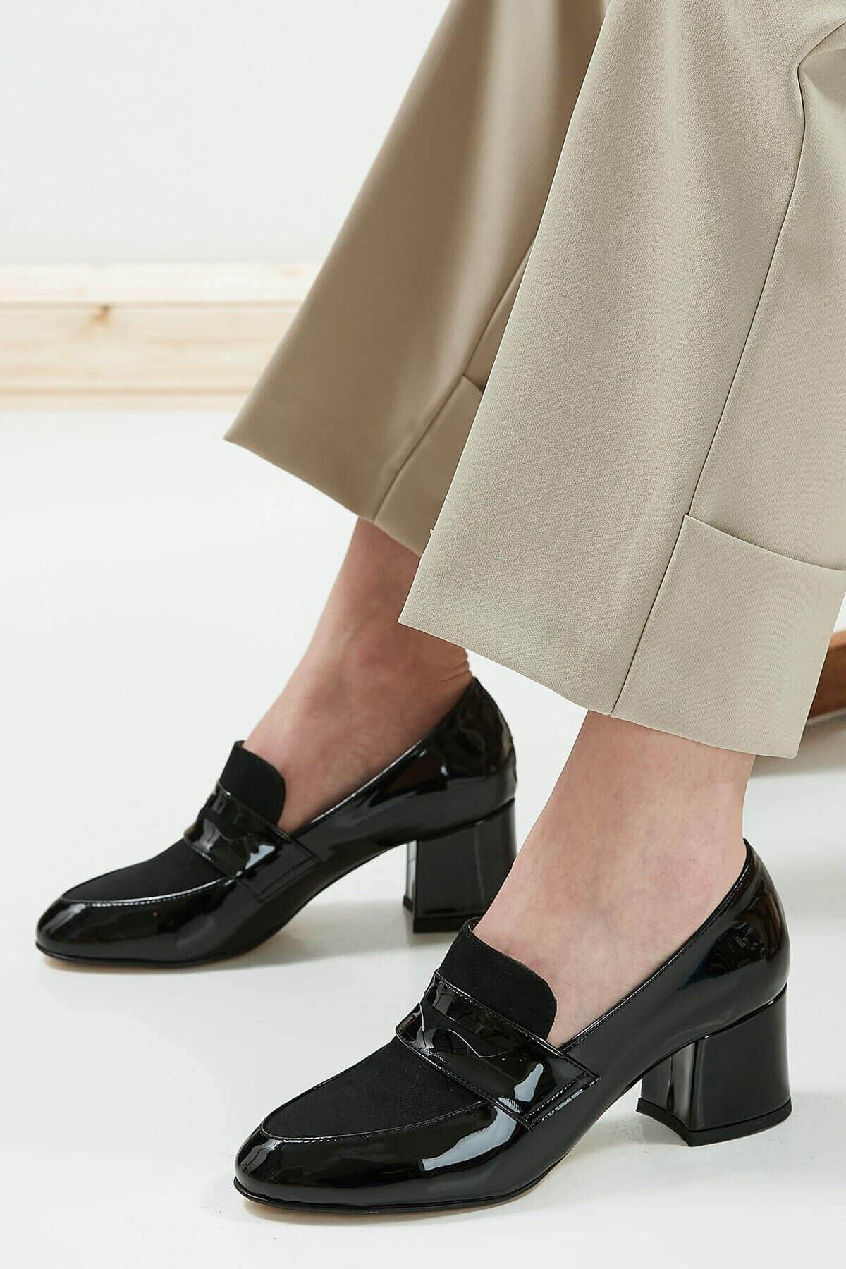 Mio Gusto Brenda Siyah Topuklu Ayakkabı 1
