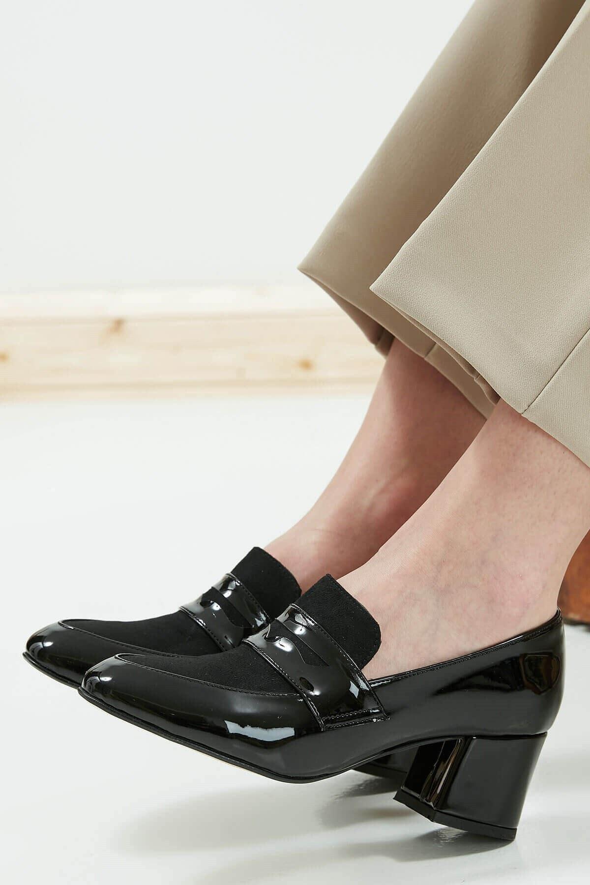Mio Gusto Brenda Siyah Topuklu Ayakkabı 2