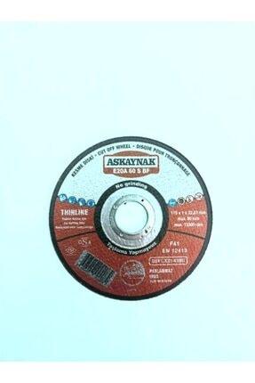 Askaynak Inox Thınlıne(düz) Kesici Disk(115x1x22,23mm)1 Adet