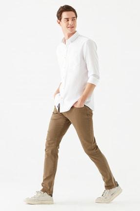 Mavi Marcus Comfort Bej Gabardin Pantolon 0035133721