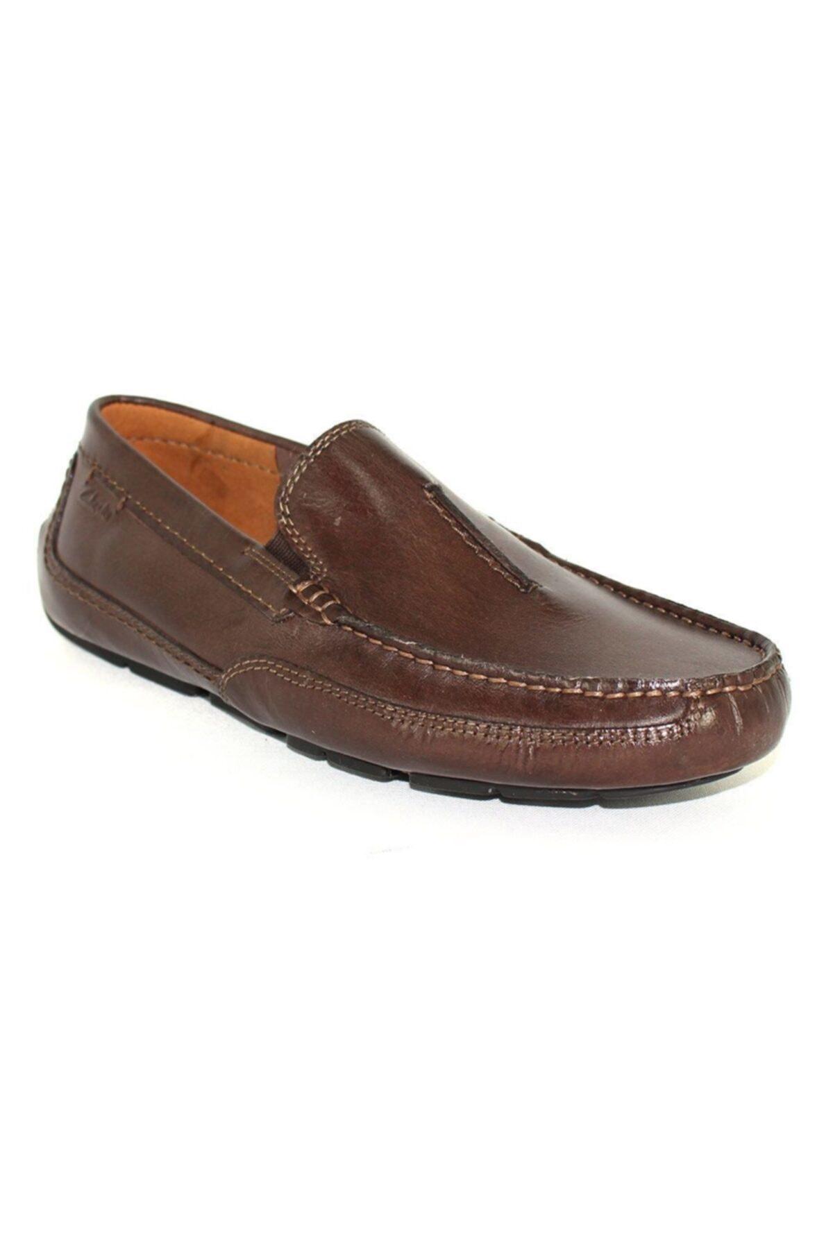 CLARKS Erkek Kahverengi Klasik Şık Ve Rahat Çok Yönlü Ürün Ashmont Race Ayakkabı 2