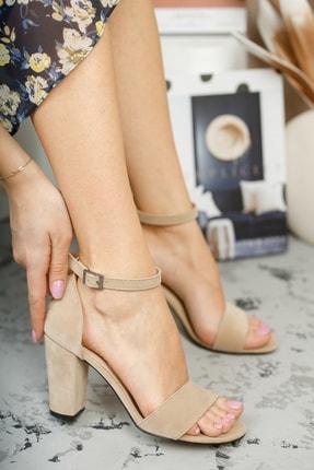 MUGGO Vizon Kadın Klasik Topuklu Ayakkabı DPRGZHWY710